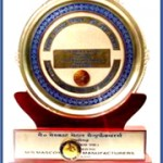 Trophy For State Export Award 2000-2001